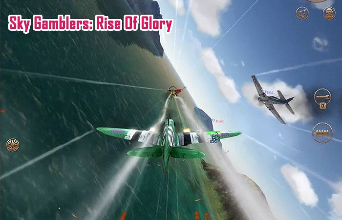 game bắn máy bay offline cho android Sky Gamblers: Rise Of Glory