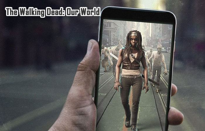 game bắn zombie moile: The Walking Dead: Our World