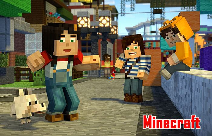 game xây dựng sinh tồn pc minecraft