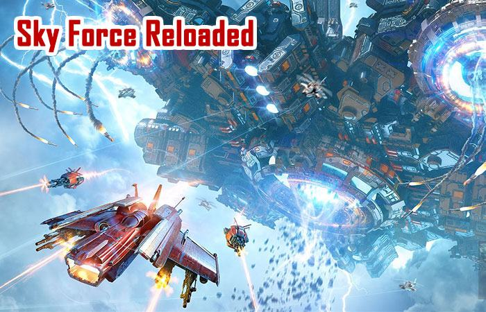 Poster game Sky Force Reloaded