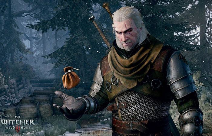 kiếm tiền trong witcher 3