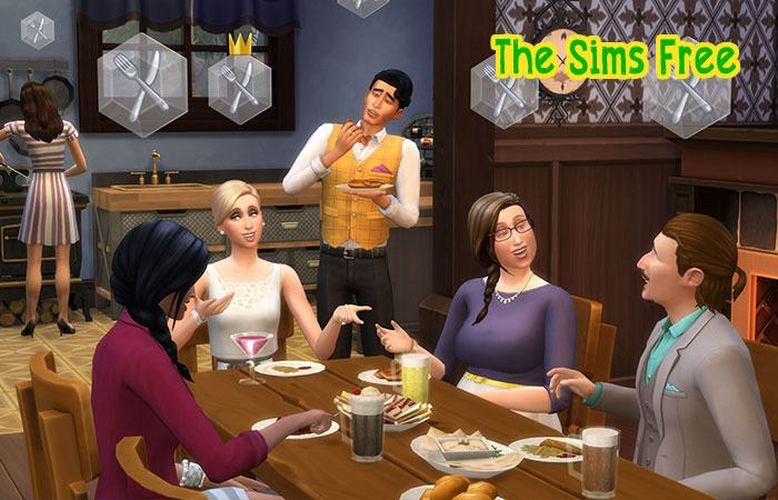 game android hay cho con gái The Sims Free