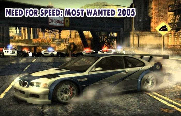 Game đua xe 3d offline cho pc Need for speed: Most wanted 2005