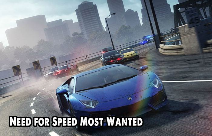 Game đua xe đồ họa 3D Need for Speed Most Wanted